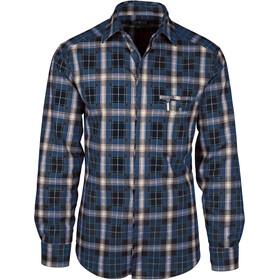 Amundsen Sports Skauen Field Full Zip Shirt Herr blue